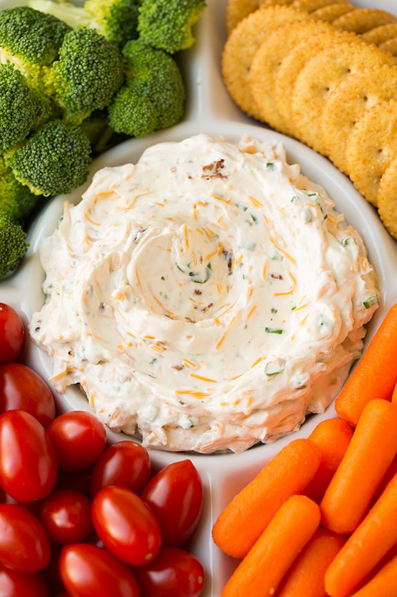 Bacon Cheddar Ranch Dip | Cooking Classy