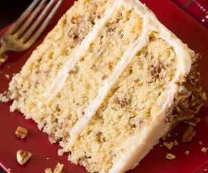 Butter Pecan Cake | Cooking Classy