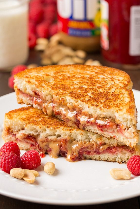 Grilled PB&J | Cooking Classy