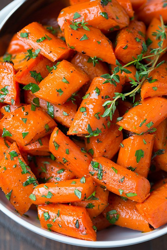 Honey Roasted Carrots Recipe Side Dish