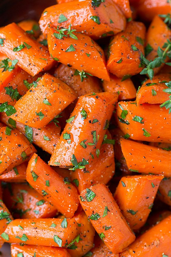 How to roast carrots with honey