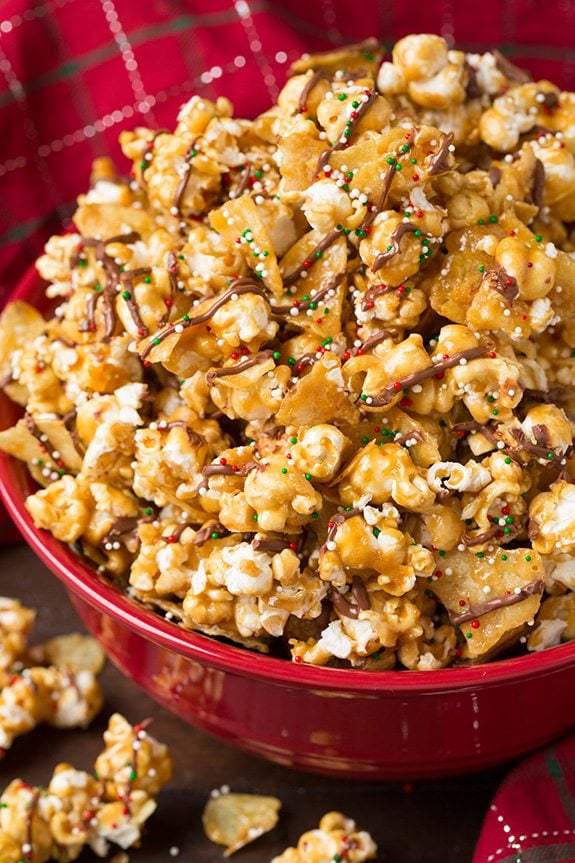 Kettle Chip Caramel Popcorn | Cooking Classy