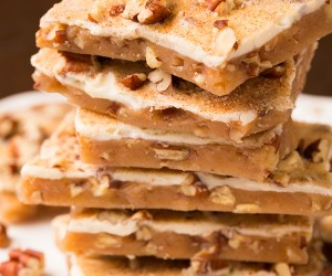 Pumpkin Spice English Toffee from Sally's Candy Addiction Cookbook | Cooking Classy