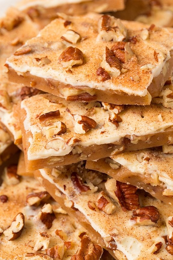 Pumpkin Spice Toffee from Sally's Candy Addiction Cookbook | Cooking Classy