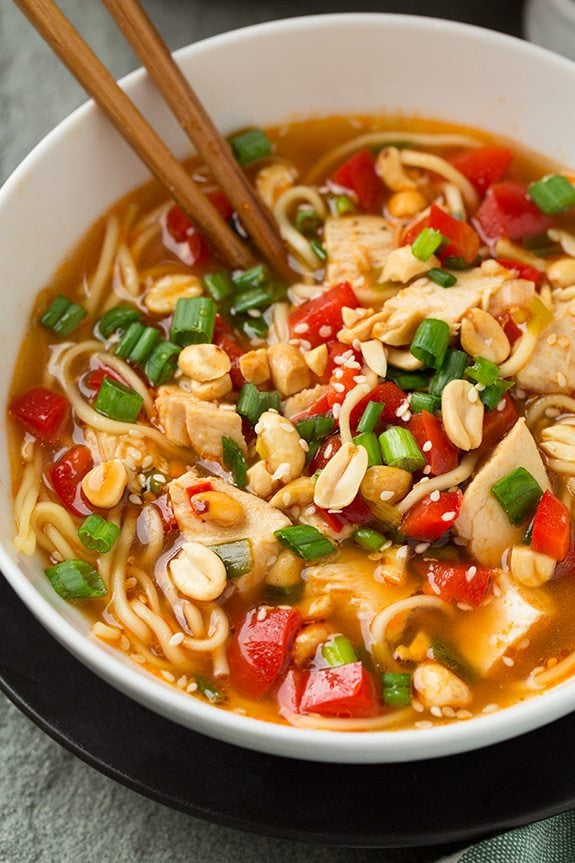 Spicy Kung Pao Ramen | Cooking Classy