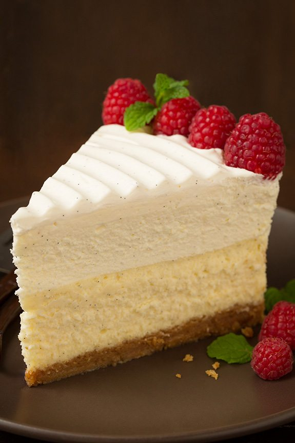 Vanilla Bean Cheesecake Cheesecake Factory vanilla bean cheesecake ...