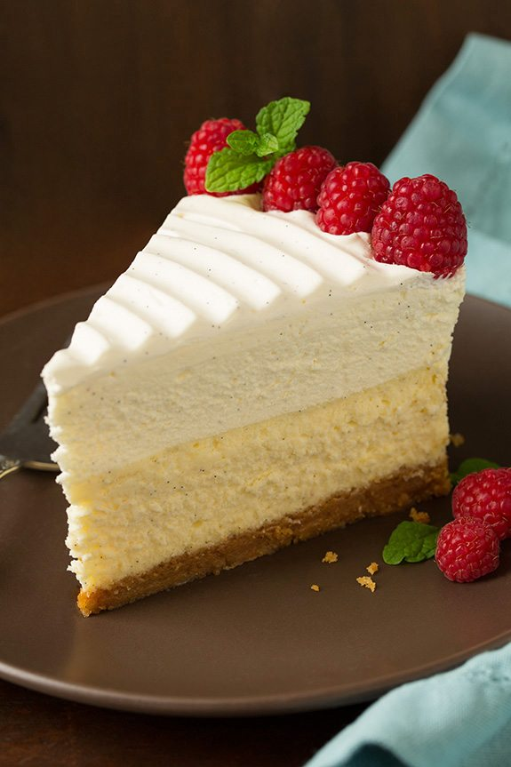 Vanilla Bean Cheesecake Cheesecake Factory Copycat