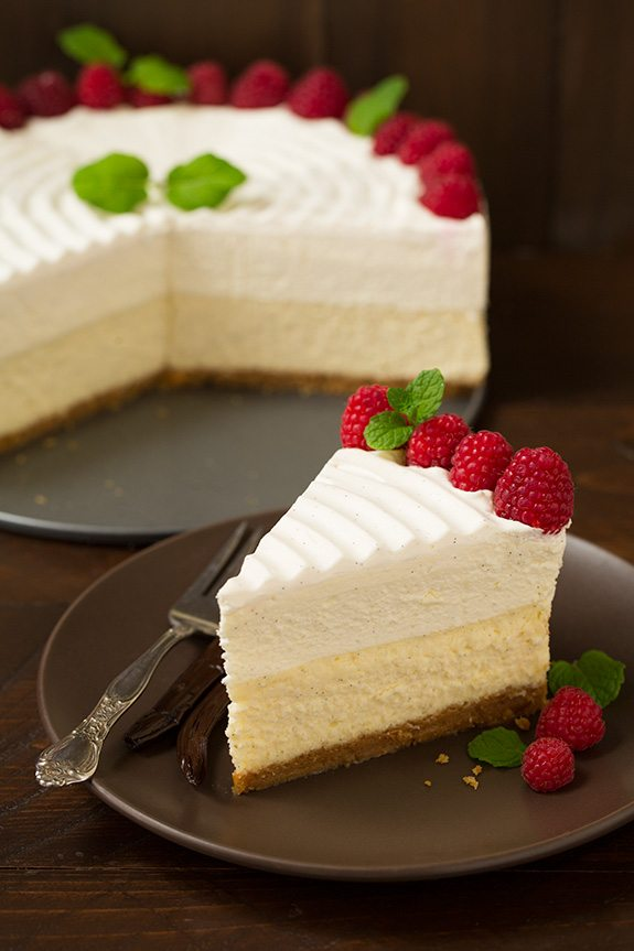 Vanilla Bean Cheesecake Cheesecake Factory Copycat Cooking Classy