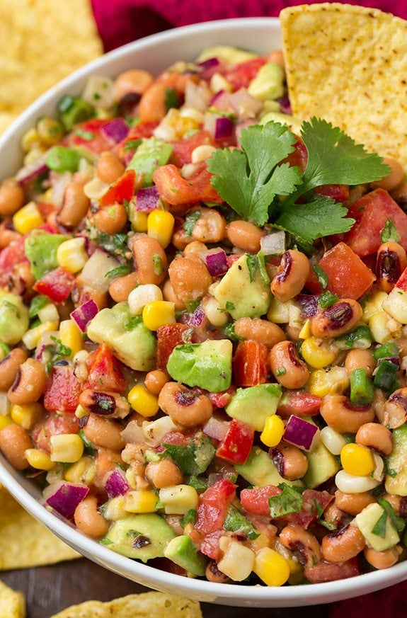 Black Eyed Pea Salsa | Cooking Classy