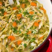 Easy Chicken Noodle Soup | Cooking Classy