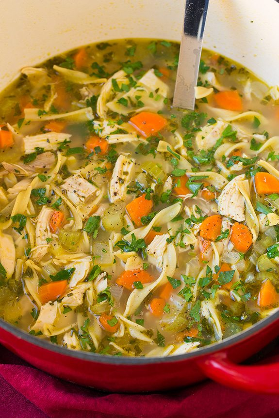 Chicken Noodle Soup | Cooking Classy