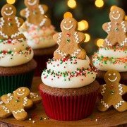 Gingerbread Cupcakes | Cooking Classy