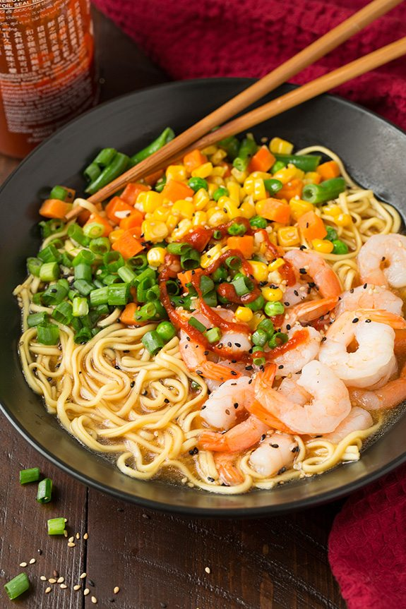 miso ramen easy Ramen Easy  Veggie Classy Shrimp Miso  Cooking and
