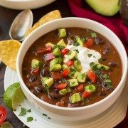 Black Bean Soup | Cooking Classy