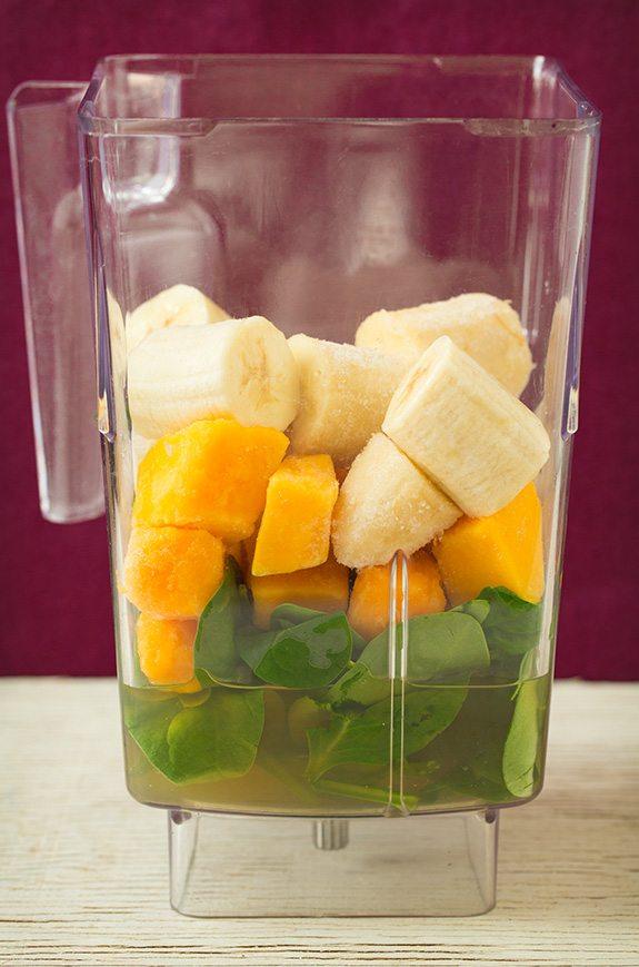 Mango Green Tea Smoothie | Cooking Classy