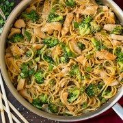 Sesame Noodles with Chicken and Broccoli | Cooking Classy