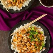 Teriyaki Grilled Chicken and Veggie Rice Bowls | Cooking Classy