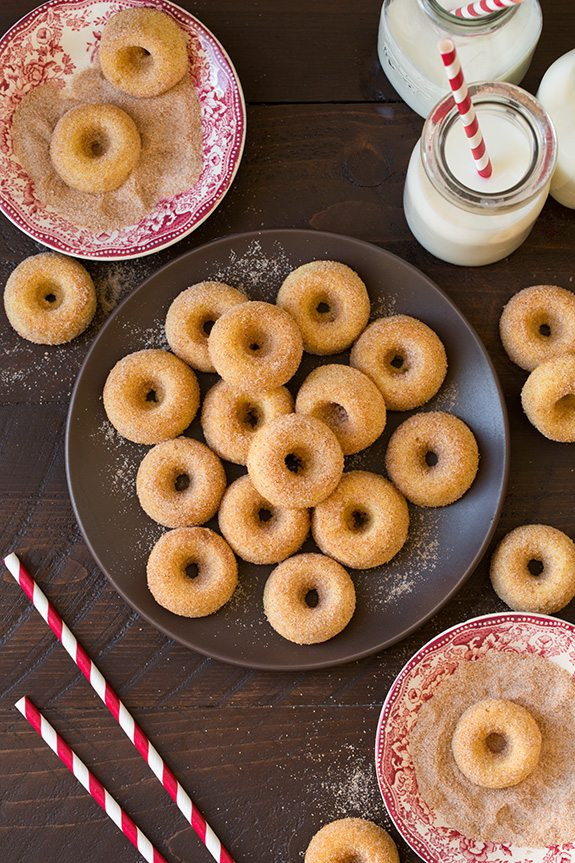 How To Make Baked Cake Donuts