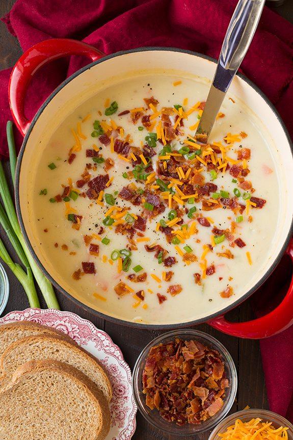 Creamy Potato Soup | Cooking Classy
