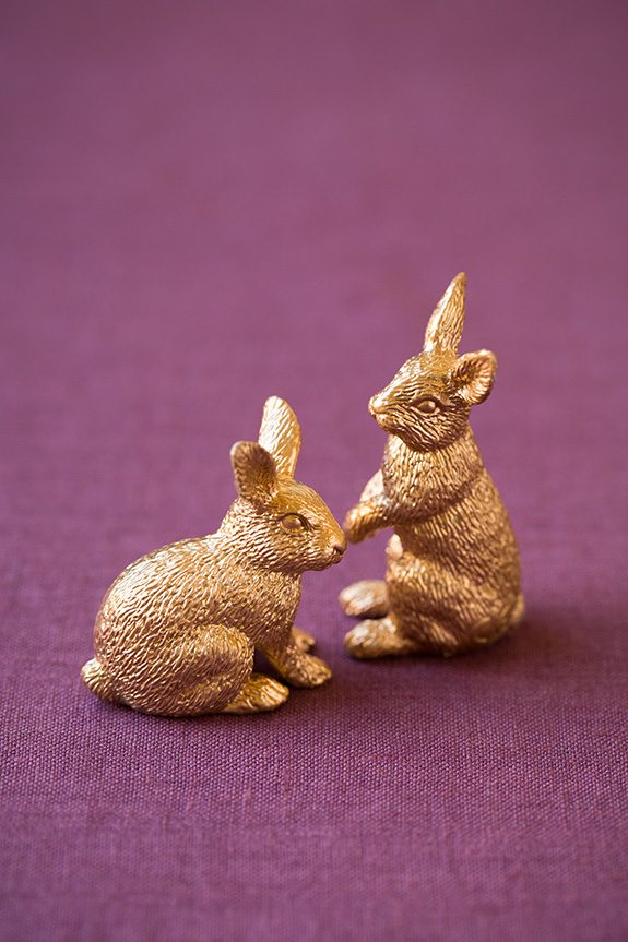 Gold Bunnies   Cooking Classy