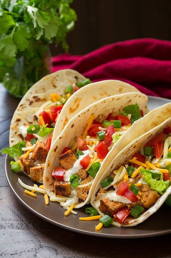 Grilled Chicken Tacos with Cilantro Lime Ranch | Cooking Classy