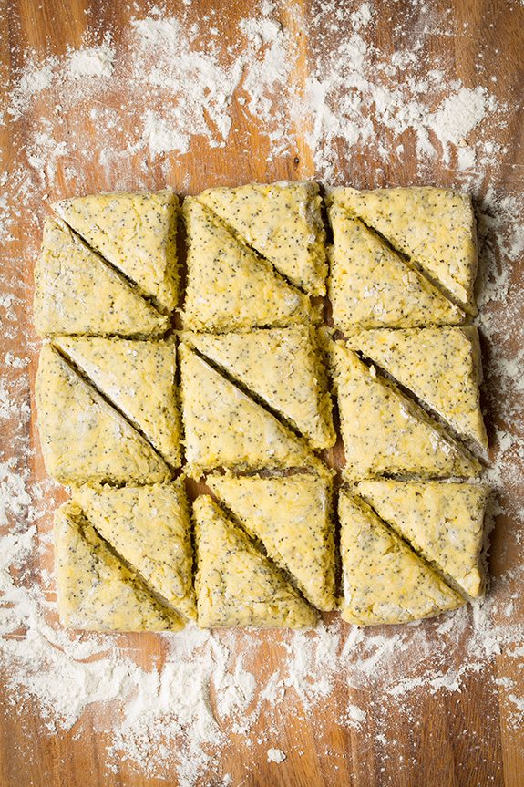 Petite Lemon Poppy Seed Scones | Cooking Classy