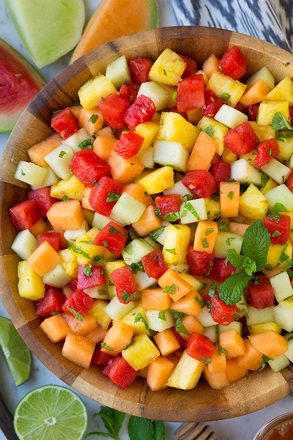 Melon Fruit Salad | Cooking Classy