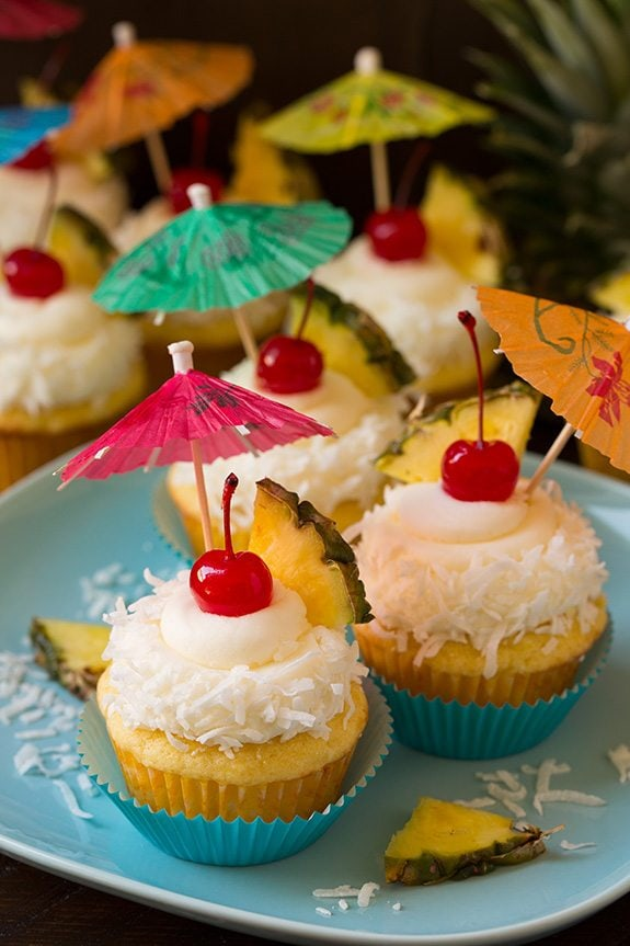 Pi 241 A Colada Cupcakes Cooking Classy