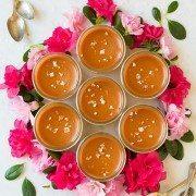 Salted Caramel Pots de Creme | Cooking Classy