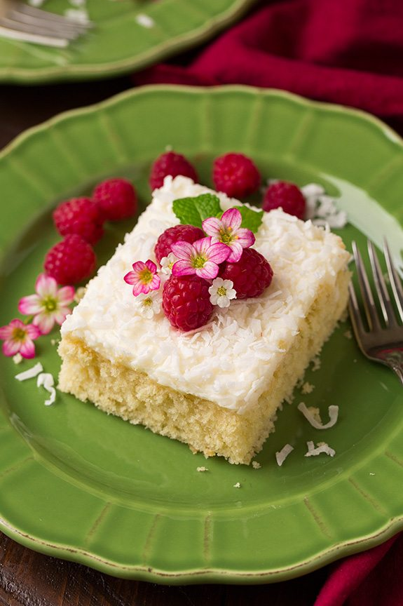 Coconut Sheet Cake