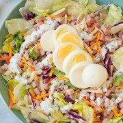 Ham and Cheese Salad with Homemade Ranch | Cooking Classy