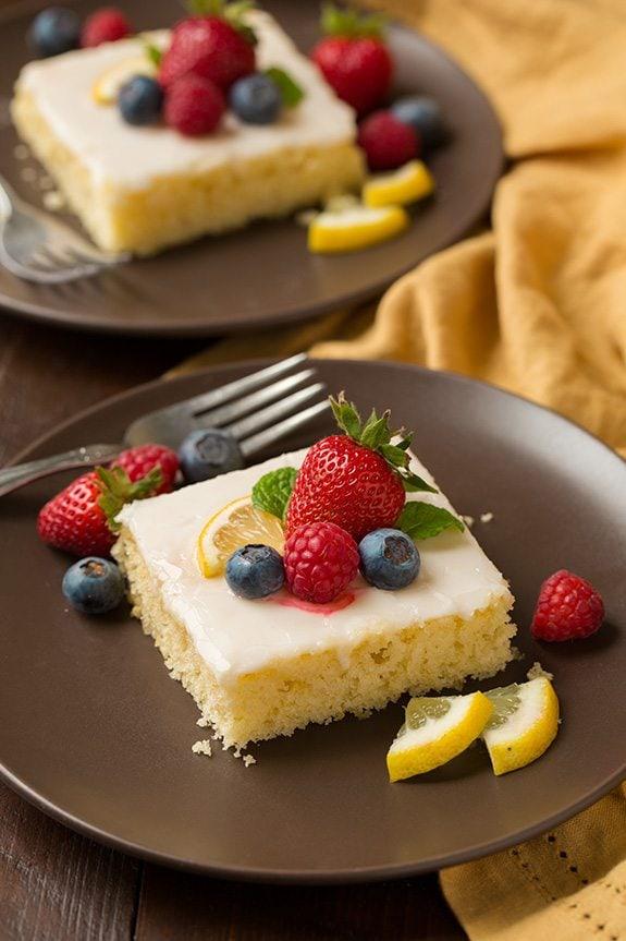 Lemon Sheet Cake   Cooking Classy
