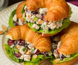 Almond Poppy Seed Chicken Salad Sandwiches | Cooking Classy