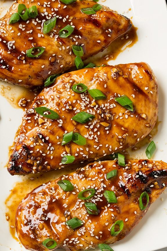Hoisin Glazed Grilled Chicken | Cooking Classy