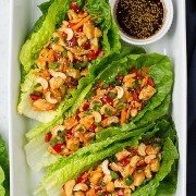Chicken Teriyaki Lettuce Wraps | Cooking Classy