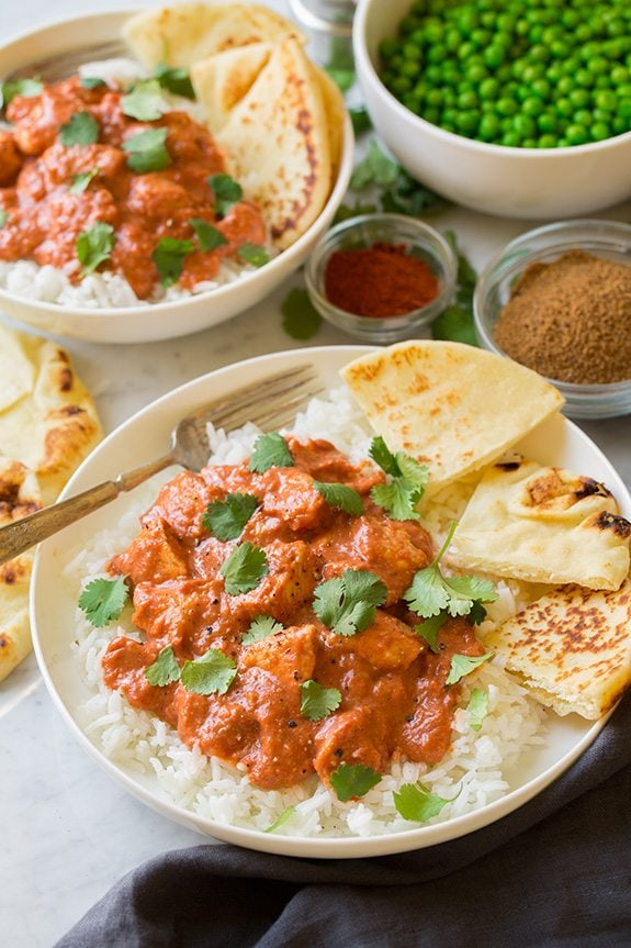 Quick chicken tikka masala 30 minutes cooking classy quick chicken tikka masala served over rice with naan forumfinder Images