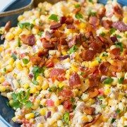 Creamy Confetti Corn with Bacon | Cooking Classy