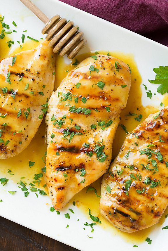Grilled Chicken With Honey Mustard Glaze Cooking Classy