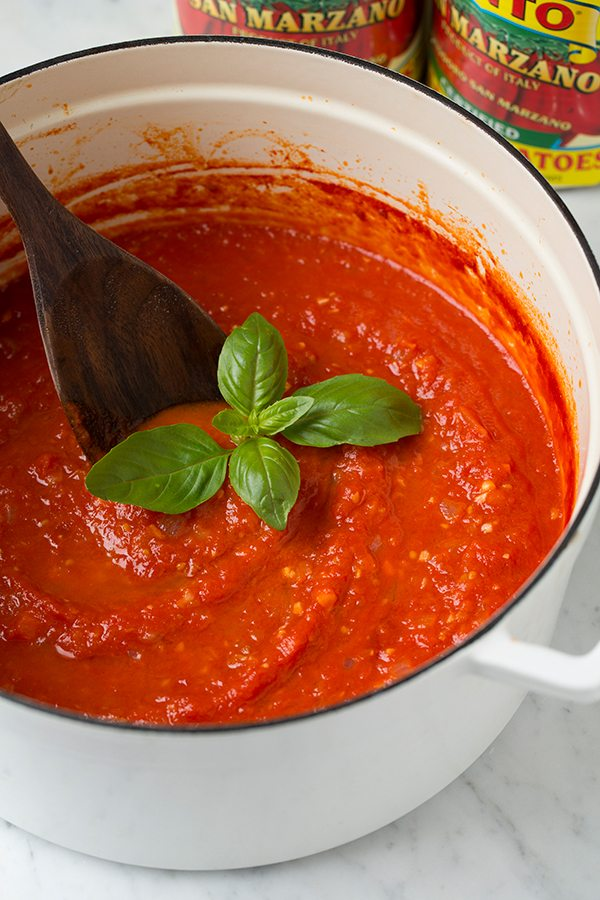 Homemade Marinara Sauce | Cooking Classy