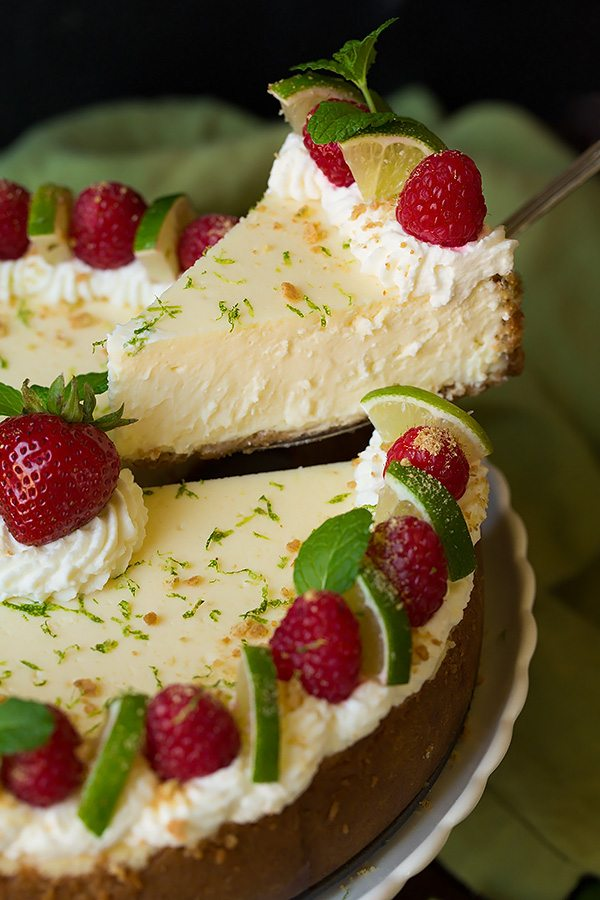 Key Lime Cheesecake   Cooking Classy