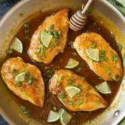 Skillet Honey-Lime Chicken | Cooking Classy