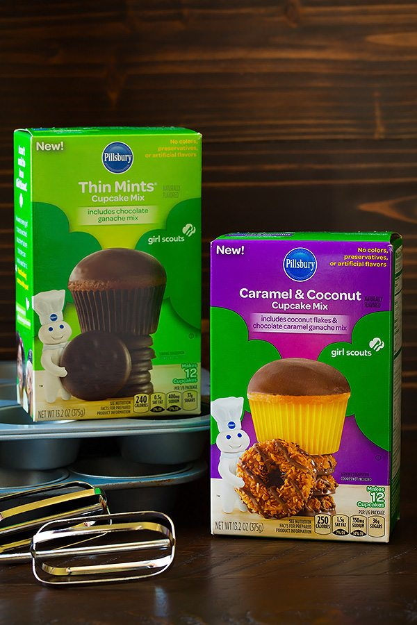 Pillsbury Girl Scout Cookie Flavored Mixes