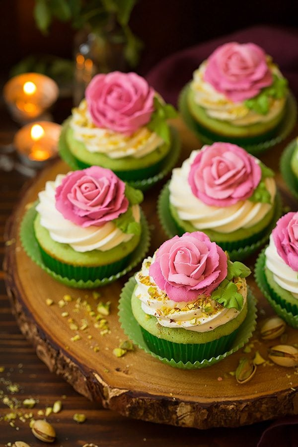 print pistachio cupcakes yield 12 cupcakes ingredients cupcakes 1 1 2 ...