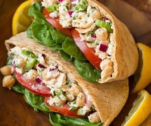 Tuna and Chickpea Pita Sandwiches | Cooking Classy