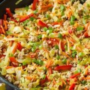 Egg Roll Skillet | Cooking Classy