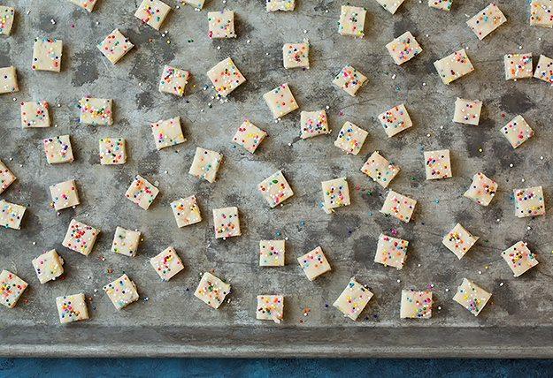 Funfetti Shortbread Bites | Cooking Classy