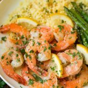 Garlic Lemon Butter Shrimp | Cooking Classy.
