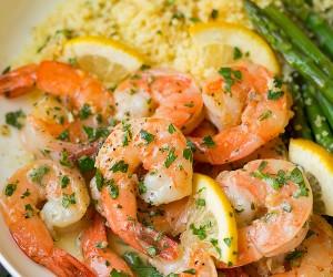 Garlic Lemon Butter Shrimp | Cooking Classy.