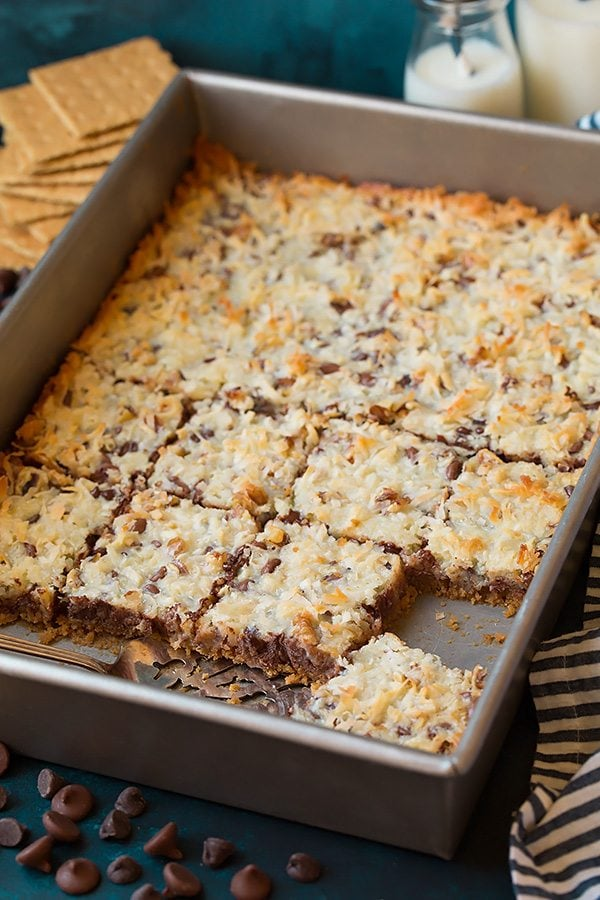 Six Layer Magic Bars (only 6 ingredients!) | Cooking Classy