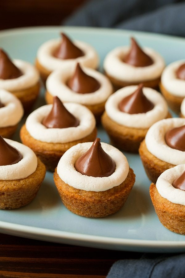 Mini S'mores Cookie Cups | Cooking Classy
